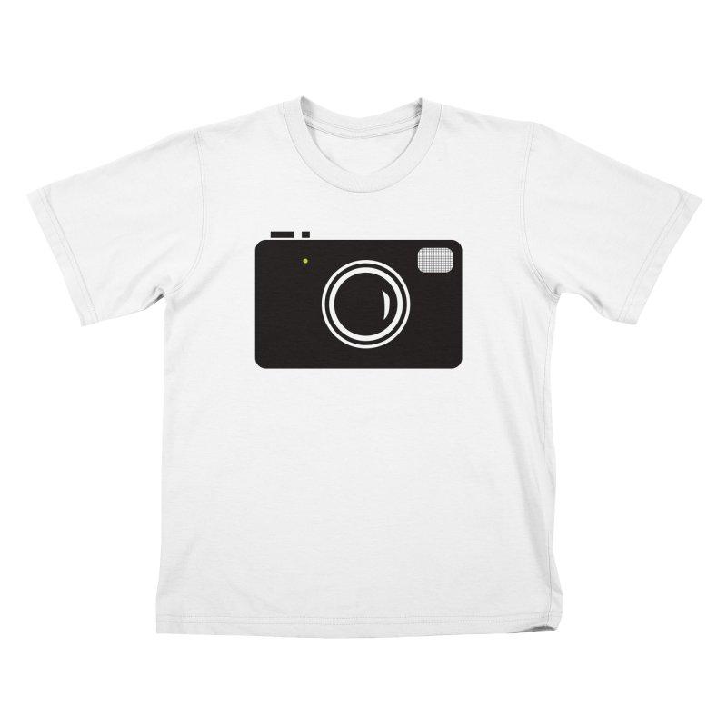 Retro Camera Kids T-Shirt by KaascaT-Shirts