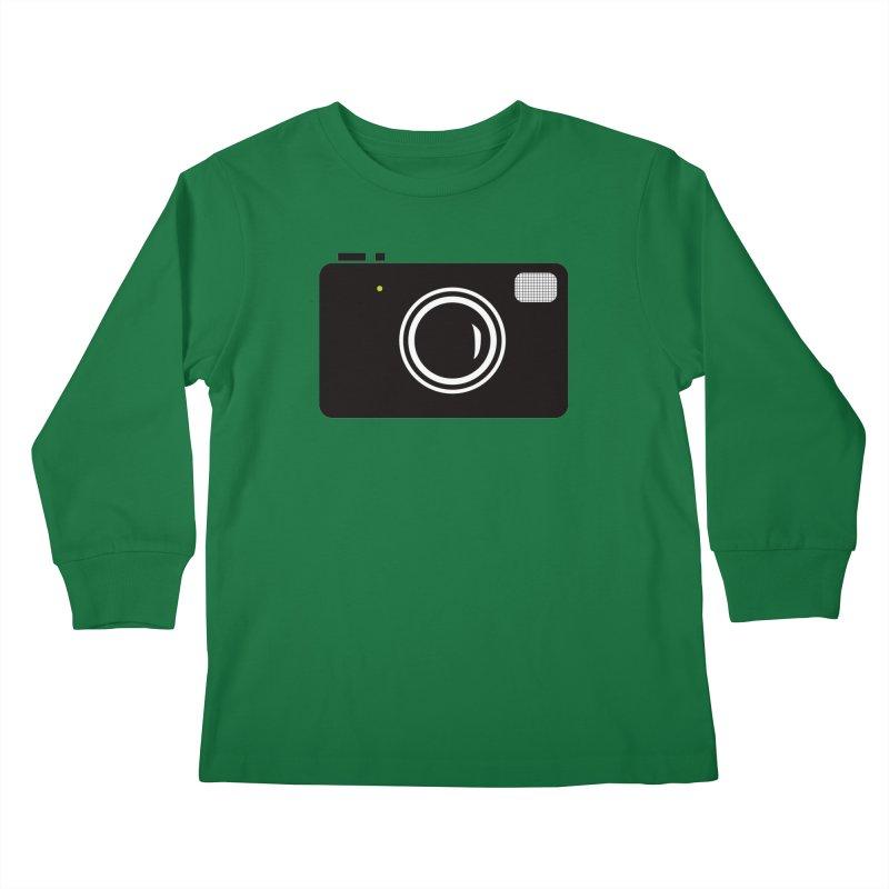 Retro Camera Kids Longsleeve T-Shirt by KaascaT-Shirts