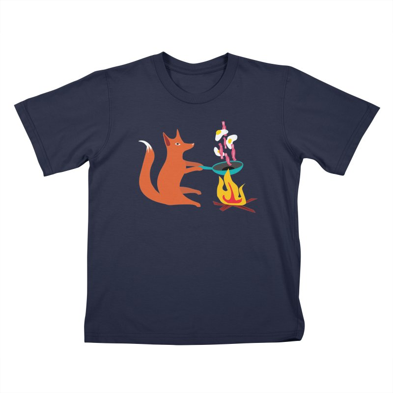 Foxy Cook Kids T-Shirt by KaascaT-Shirts