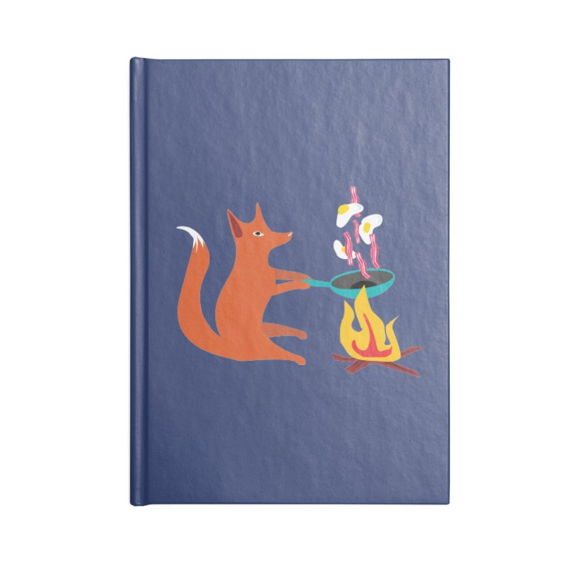 Foxy Cook Accessories Notebook by KaascaT-Shirts