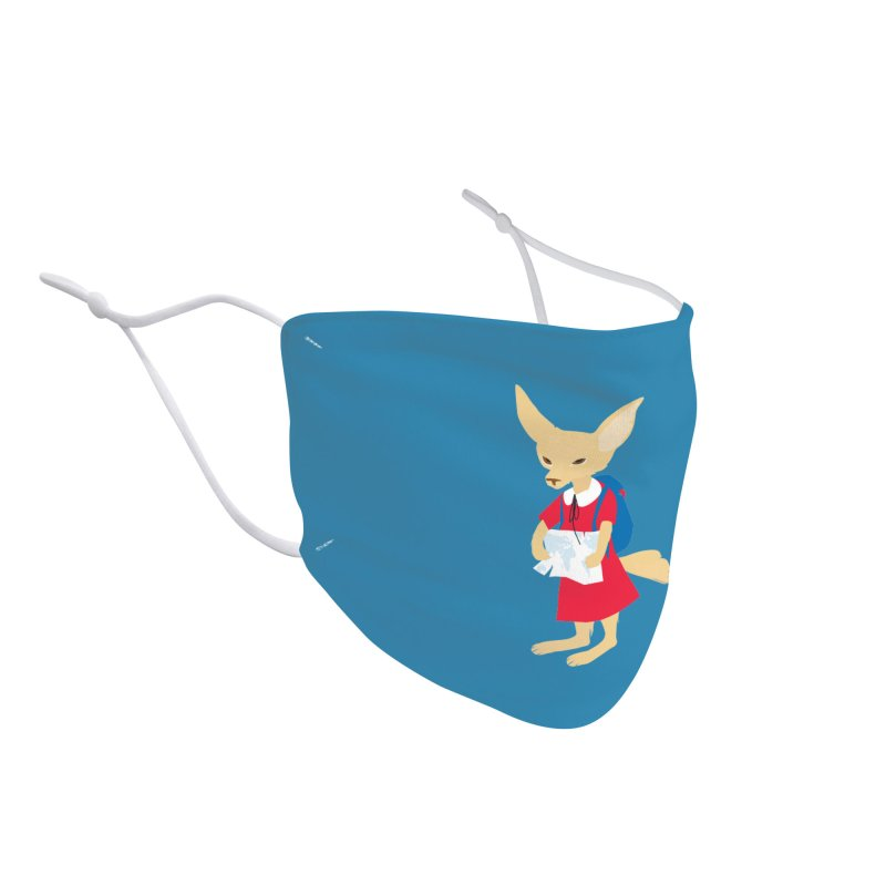 Fenneco's Journey Accessories Face Mask by KaascaT-Shirts
