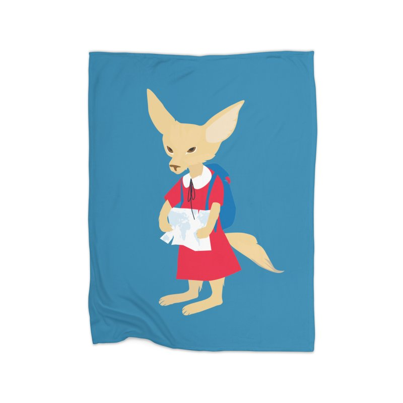 Fenneco's Journey Home Blanket by KaascaT-Shirts