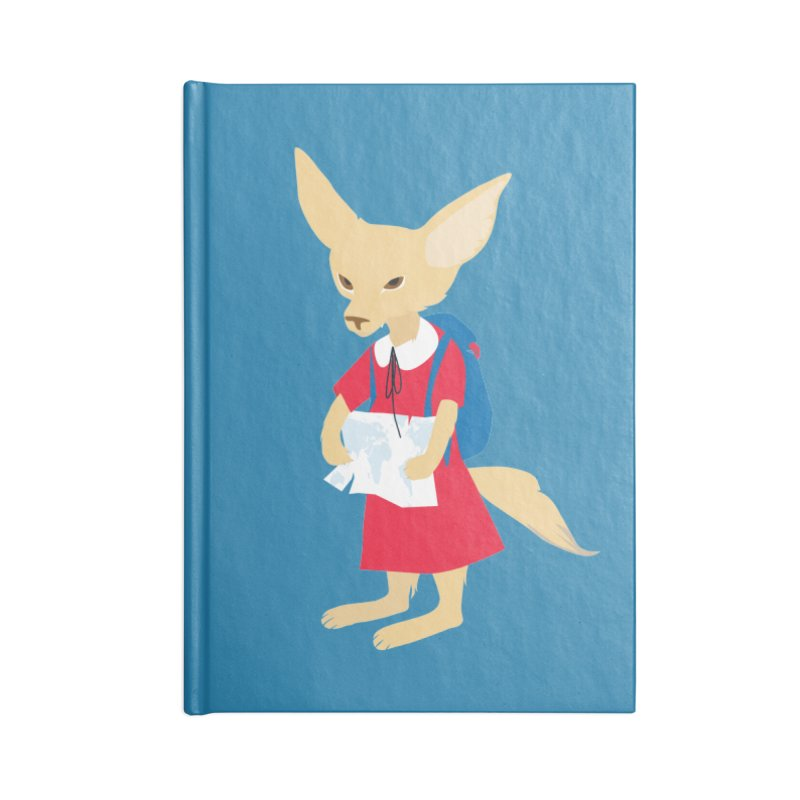 Fenneco's Journey Accessories Notebook by KaascaT-Shirts