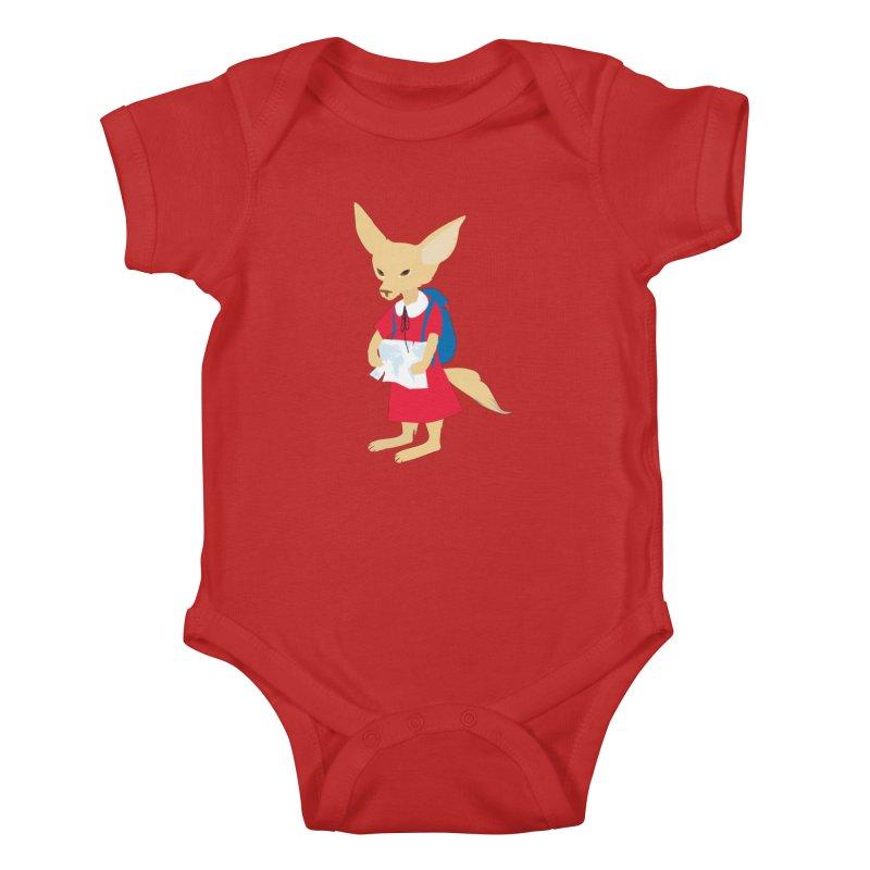 Fenneco's Journey Kids Baby Bodysuit by KaascaT-Shirts