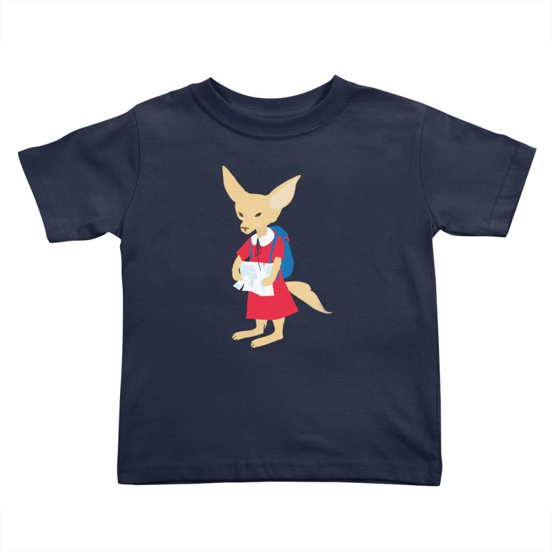 Fenneco's Journey Kids Toddler T-Shirt by KaascaT-Shirts