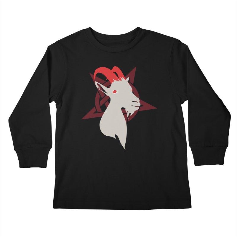 Goatee 666 Kids Longsleeve T-Shirt by KaascaT-Shirts