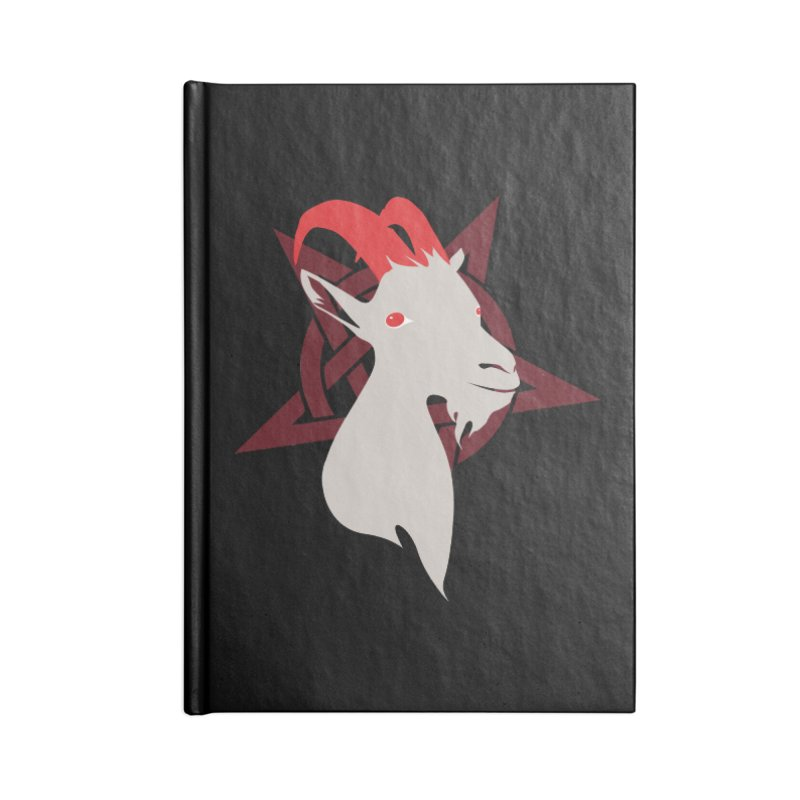 Goatee 666 Accessories Notebook by KaascaT-Shirts