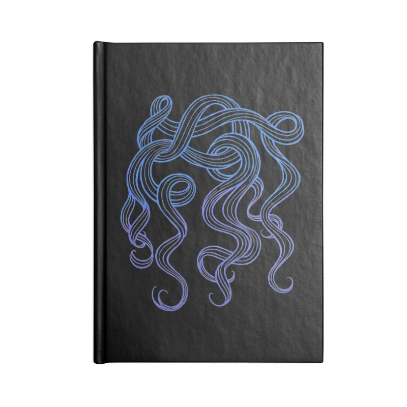 folicle Accessories Notebook by kaboodle's Artist Shop