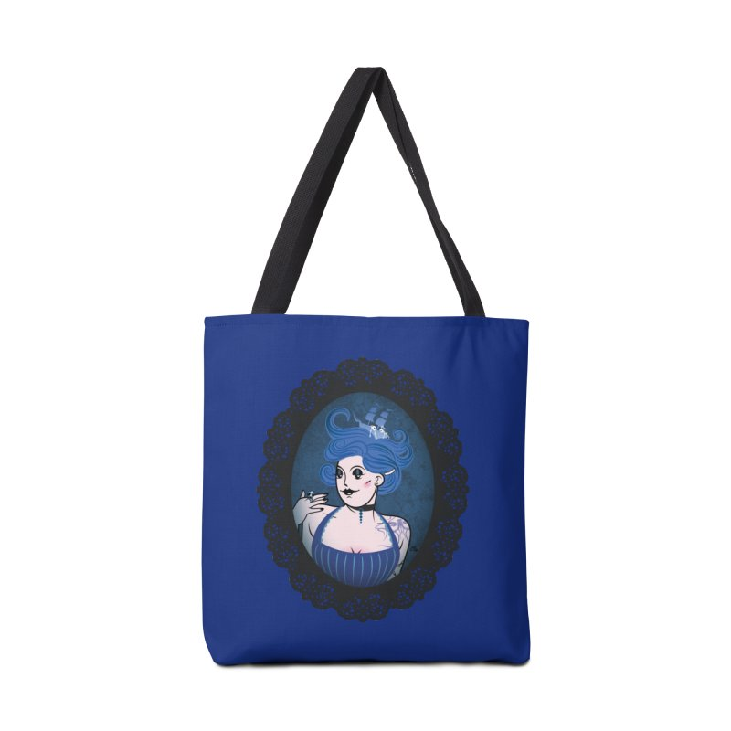 Shipwreck Mistress  Accessories Bag by kaboodle's Artist Shop
