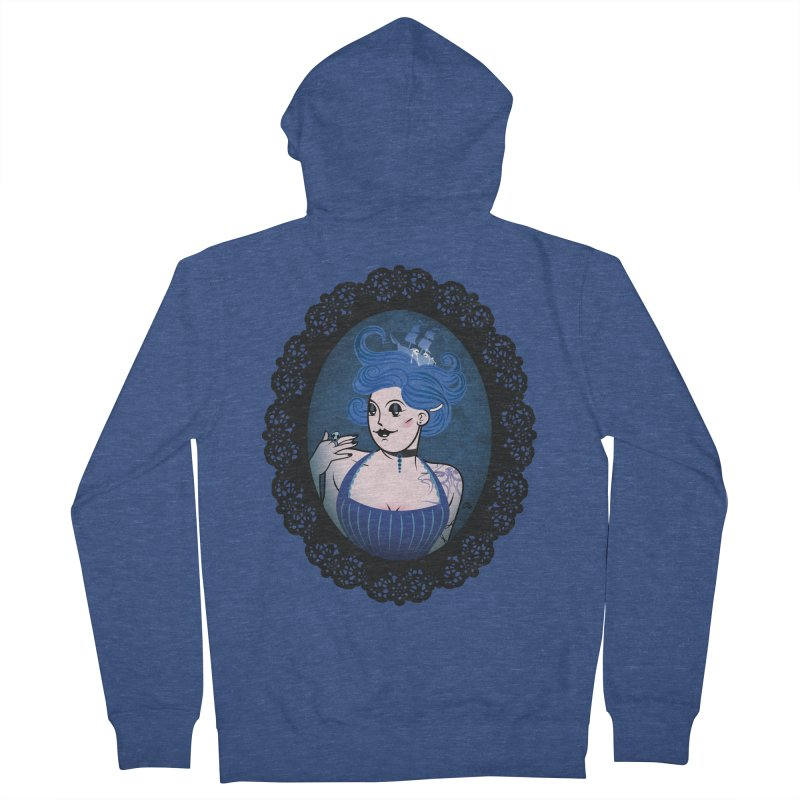 Shipwreck Mistress  Women's Zip-Up Hoody by kaboodle's Artist Shop