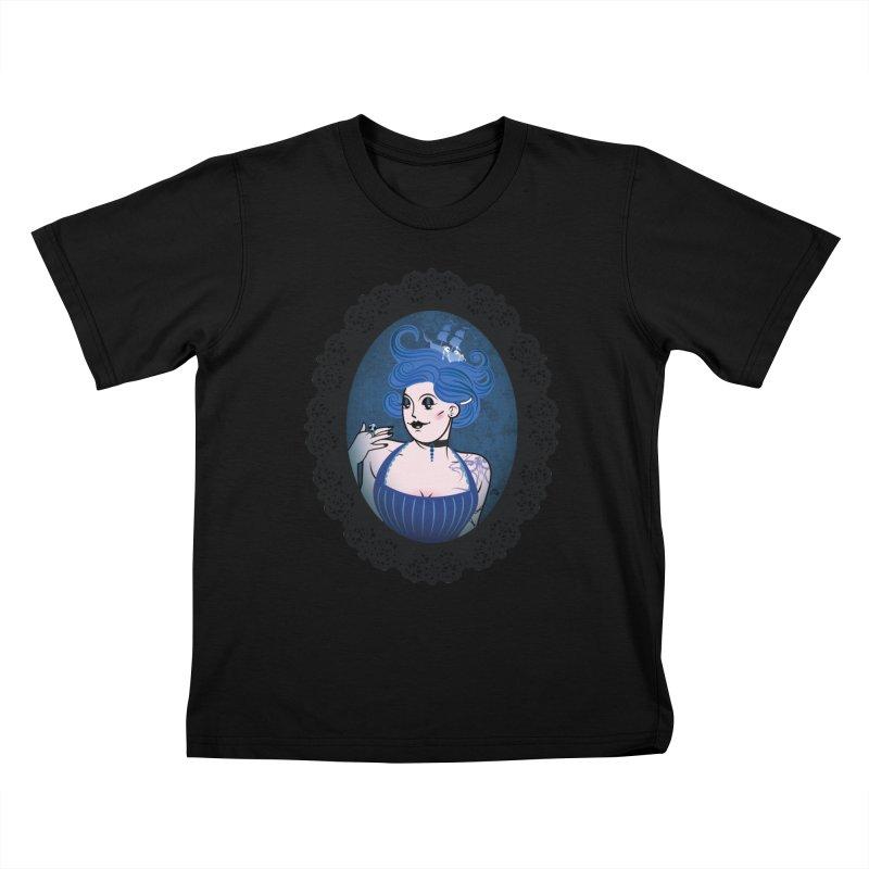 Shipwreck Mistress  Kids T-shirt by kaboodle's Artist Shop