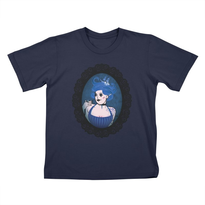 Shipwreck Mistress  Kids T-Shirt by kaboodle's Artist Shop