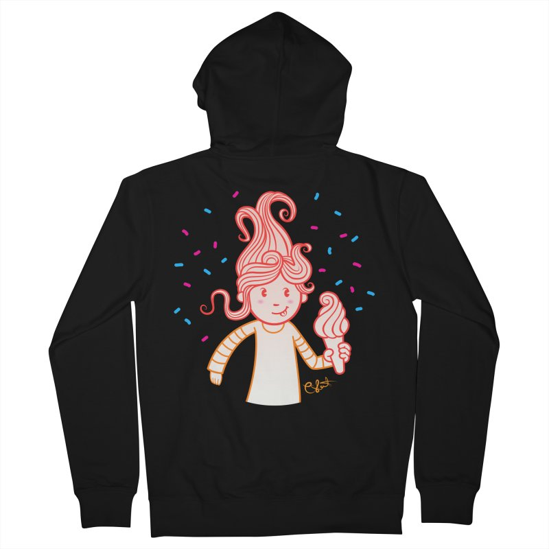 FrostyCurl Women's Zip-Up Hoody by kaboodle's Artist Shop