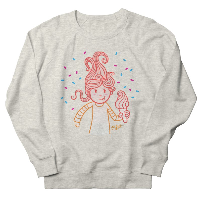FrostyCurl Women's Sweatshirt by kaboodle's Artist Shop