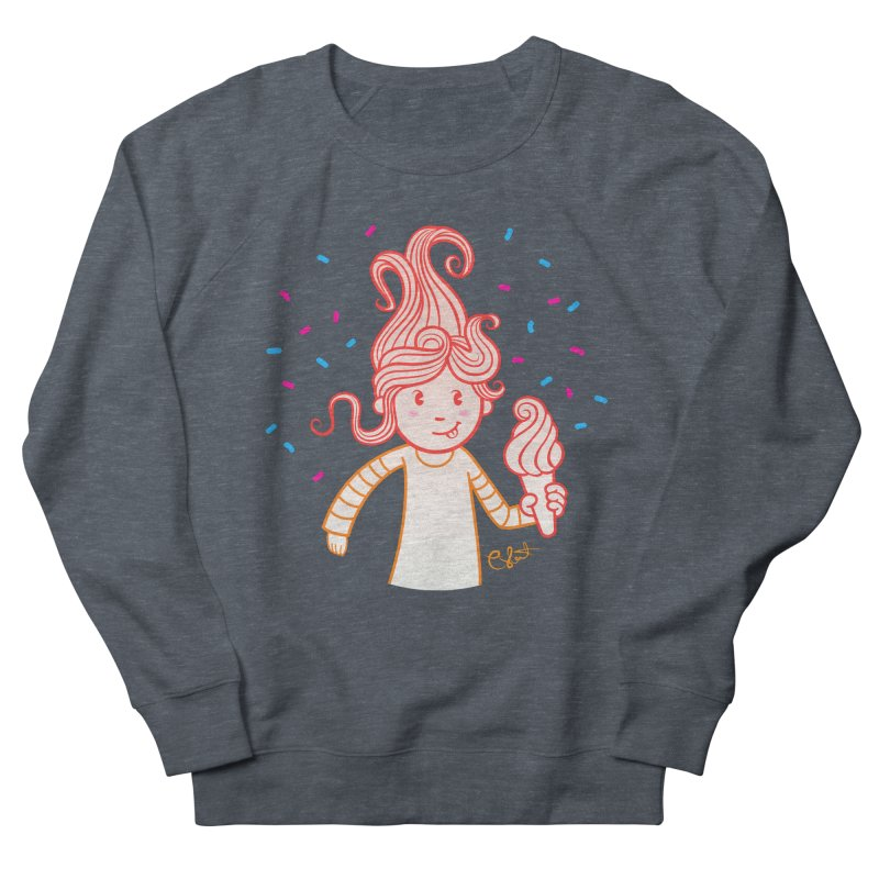 FrostyCurl Men's Sweatshirt by kaboodle's Artist Shop
