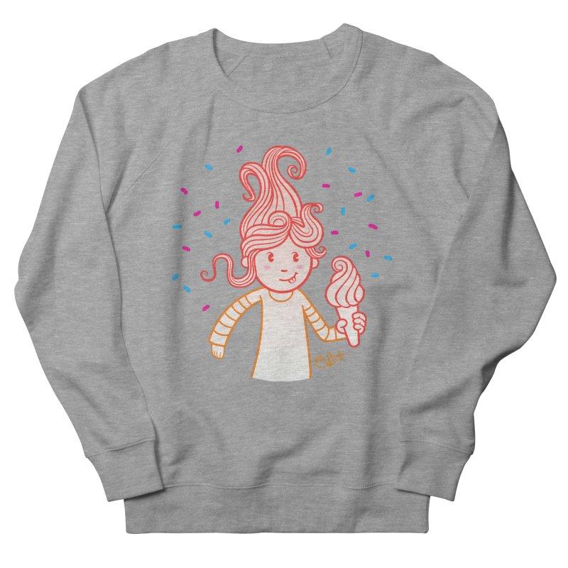 FrostyCurl Men's Sweatshirt by kaboodle's Artist Shop