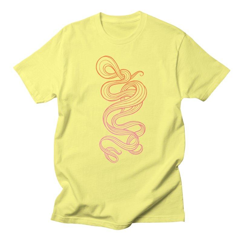 Curlique Women's Unisex T-Shirt by kaboodle's Artist Shop