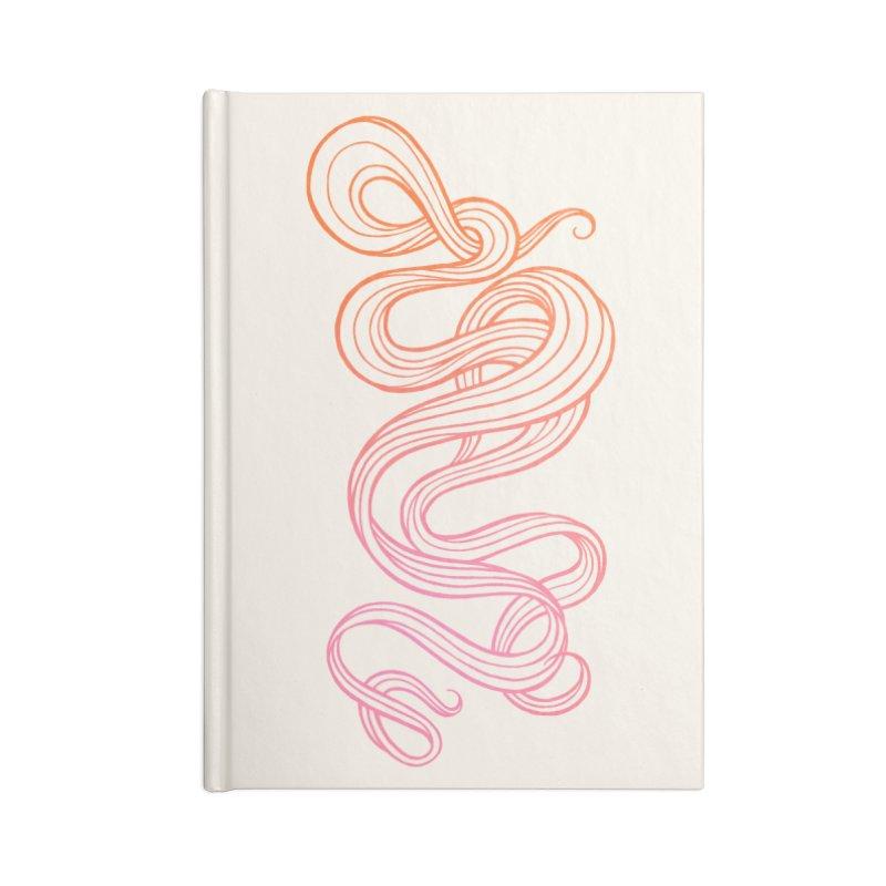 Curlique Accessories Notebook by kaboodle's Artist Shop