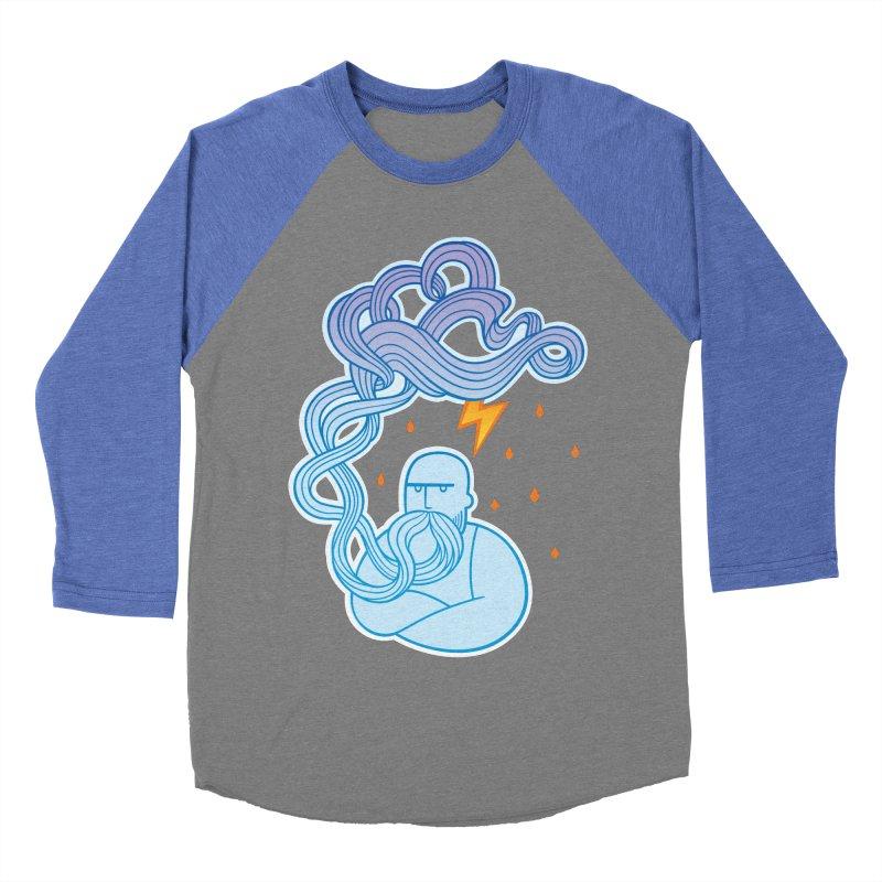 Thunderstruck Women's Baseball Triblend T-Shirt by kaboodle's Artist Shop