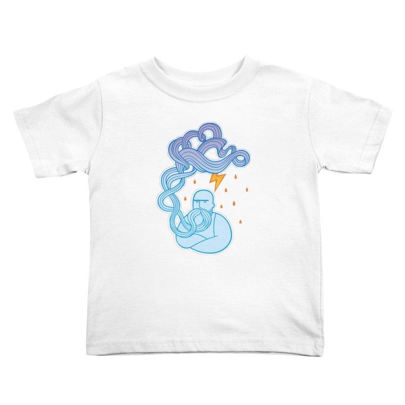 Thunderstruck Kids Toddler T-Shirt by kaboodle's Artist Shop