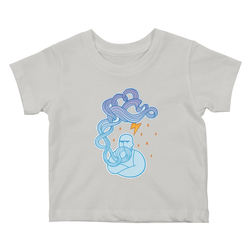 Thunderstruck Kids Baby T-Shirt by kaboodle's Artist Shop
