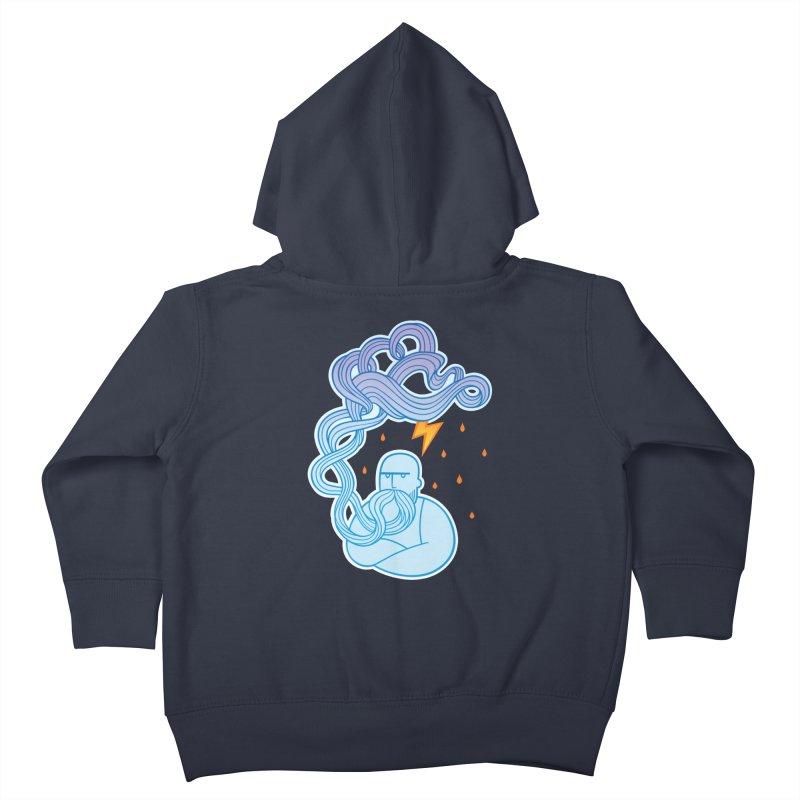 Thunderstruck Kids Toddler Zip-Up Hoody by kaboodle's Artist Shop