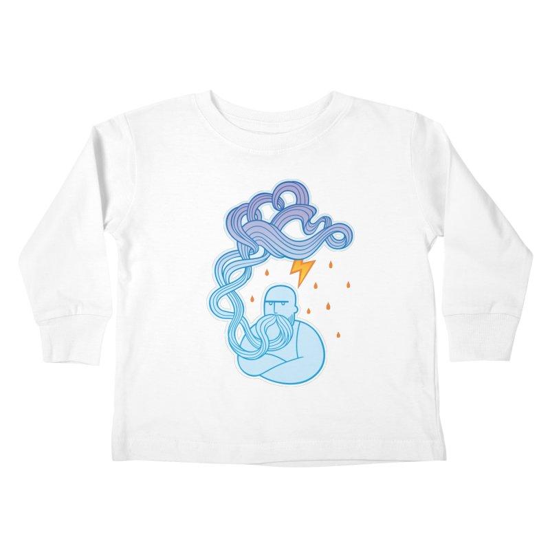 Thunderstruck Kids Toddler Longsleeve T-Shirt by kaboodle's Artist Shop