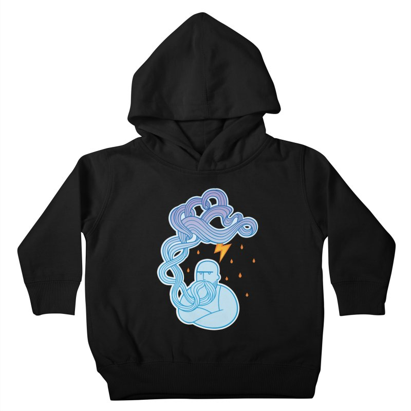 Thunderstruck Kids Toddler Pullover Hoody by kaboodle's Artist Shop