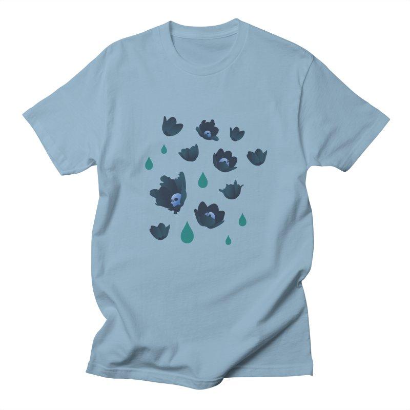 Winter Poppies (Rust) Women's Unisex T-Shirt by kaboodle's Artist Shop