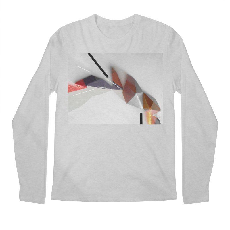 Polygon IV Men's Regular Longsleeve T-Shirt by Kacix Artist Shop