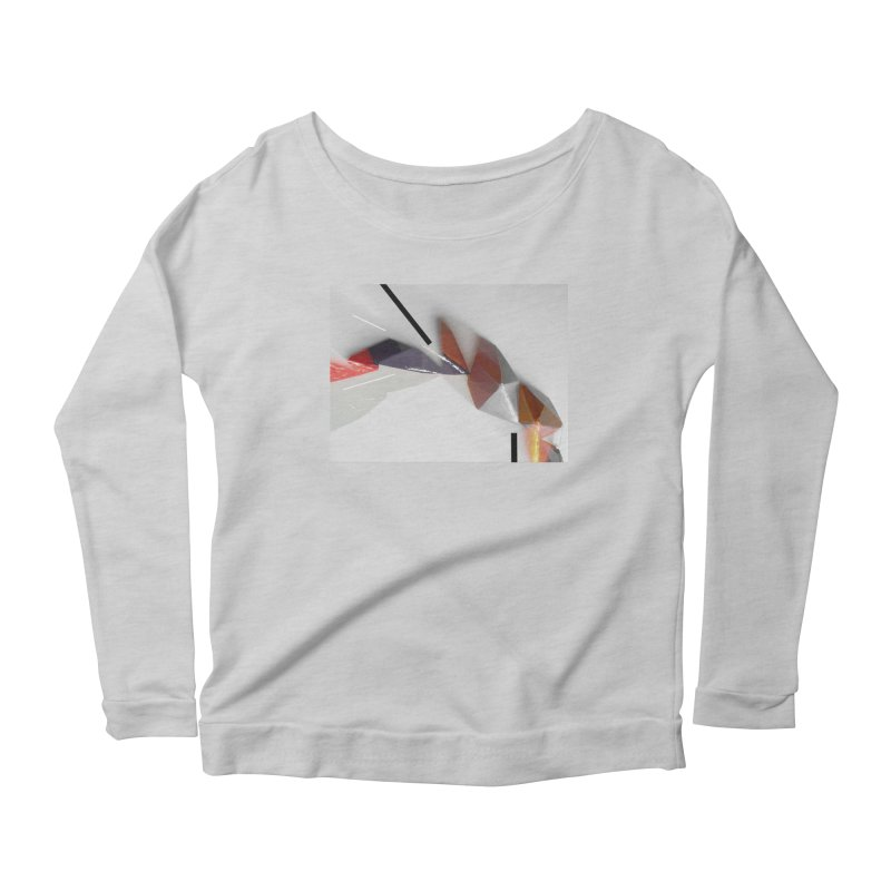 Polygon IV Women's Scoop Neck Longsleeve T-Shirt by Kacix Artist Shop