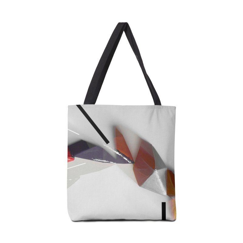 Polygon IV Accessories Bag by Kacix Artist Shop