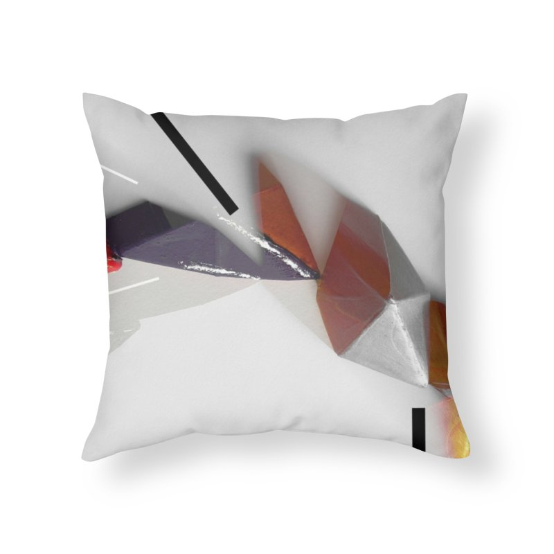 Polygon IV Home Throw Pillow by Kacix Artist Shop