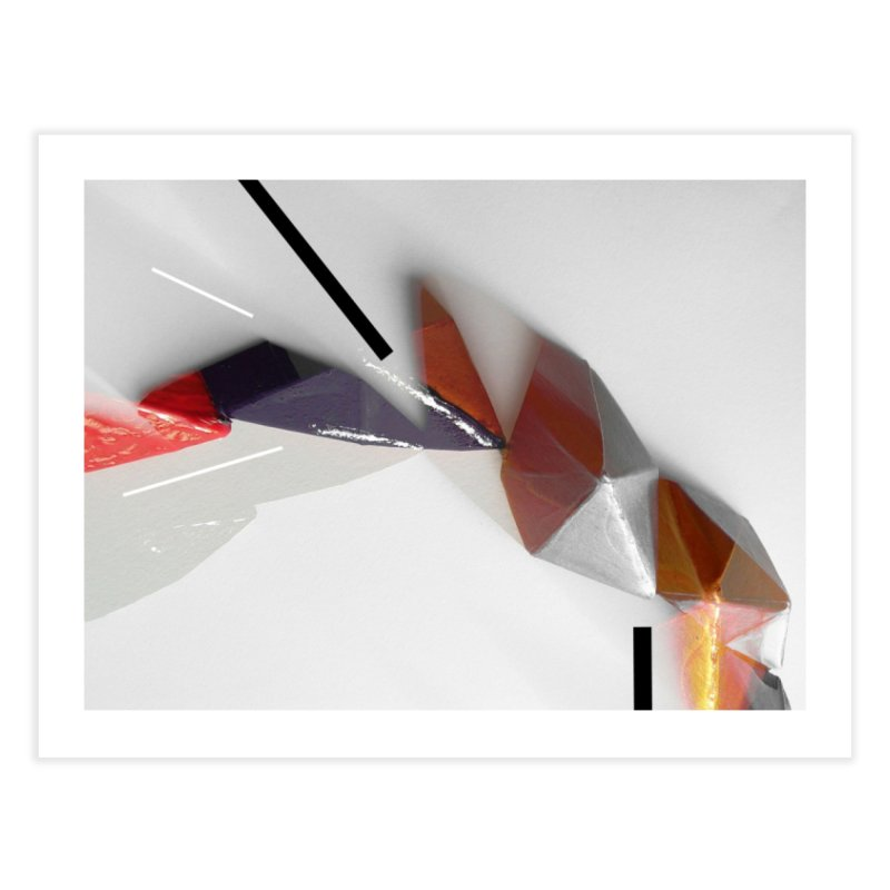 Polygon IV Home Fine Art Print by Kacix Artist Shop