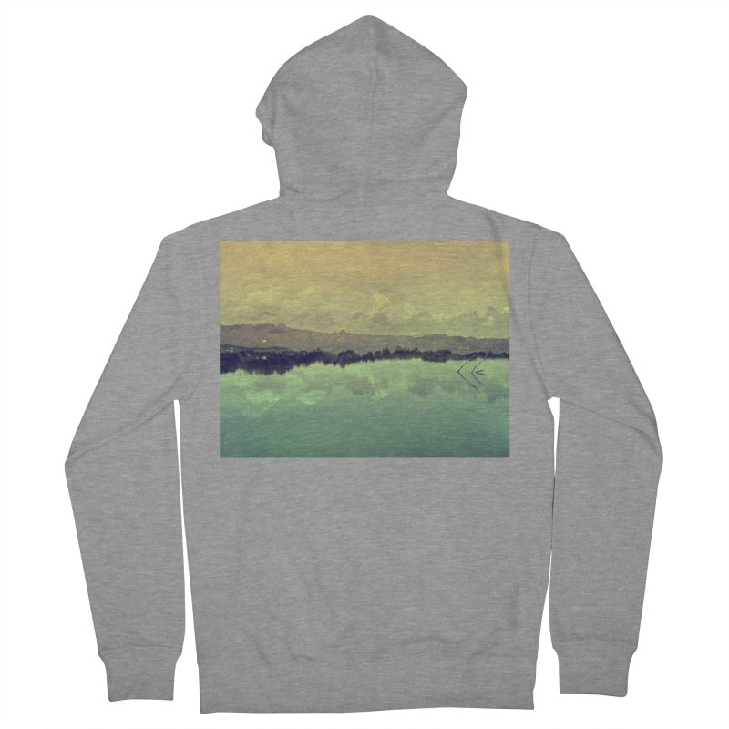 Voices of Nature Men's French Terry Zip-Up Hoody by Kacix Artist Shop