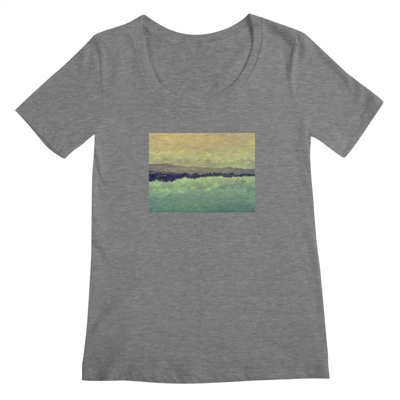 Voices of Nature Women's Scoopneck by Kacix Artist Shop