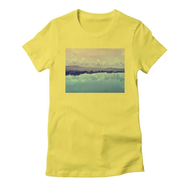 Voices of Nature Women's Fitted T-Shirt by Kacix Artist Shop