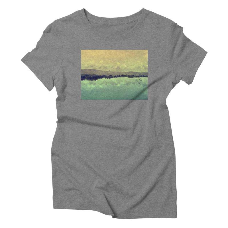 Voices of Nature Women's Triblend T-shirt by Kacix Artist Shop