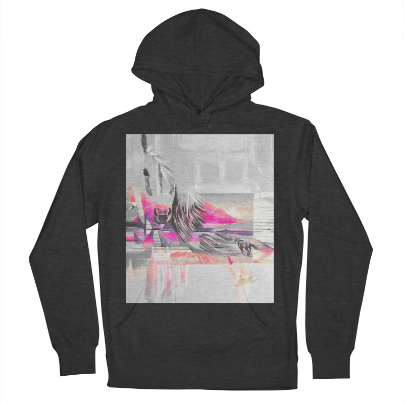 Horse Men's Pullover Hoody by Kacix Artist Shop
