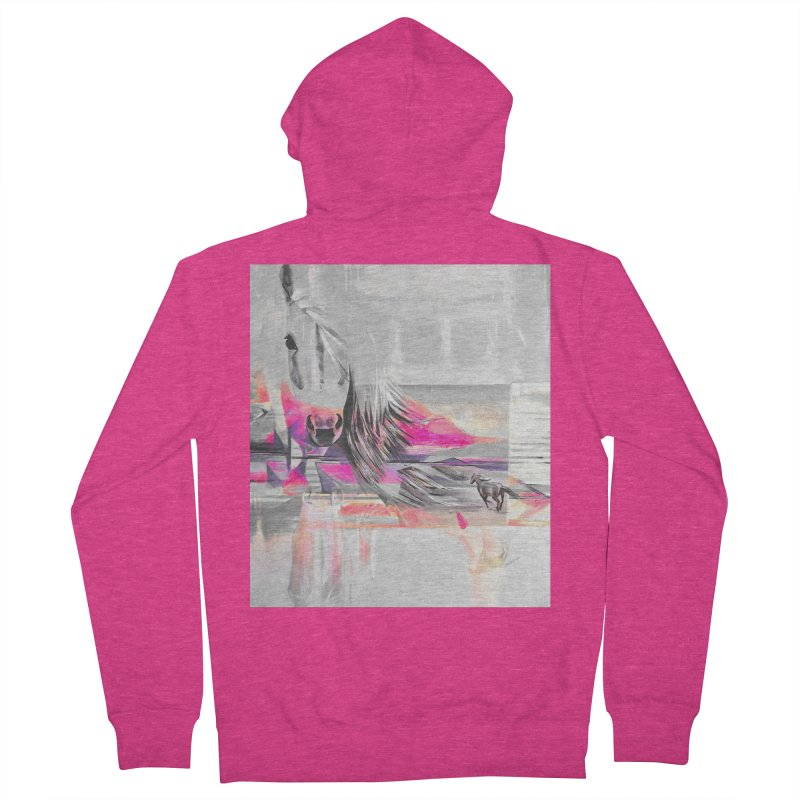 Horse Women's Zip-Up Hoody by Kacix Artist Shop
