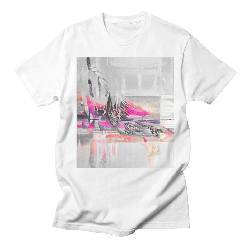Horse Men's T-shirt by Kacix Artist Shop