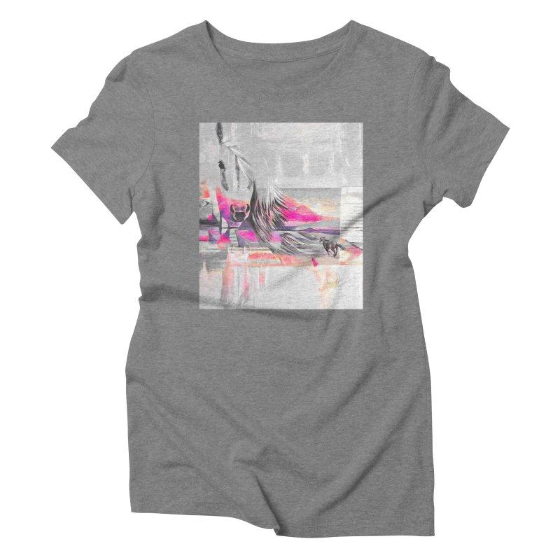Horse Women's Triblend T-shirt by Kacix Artist Shop