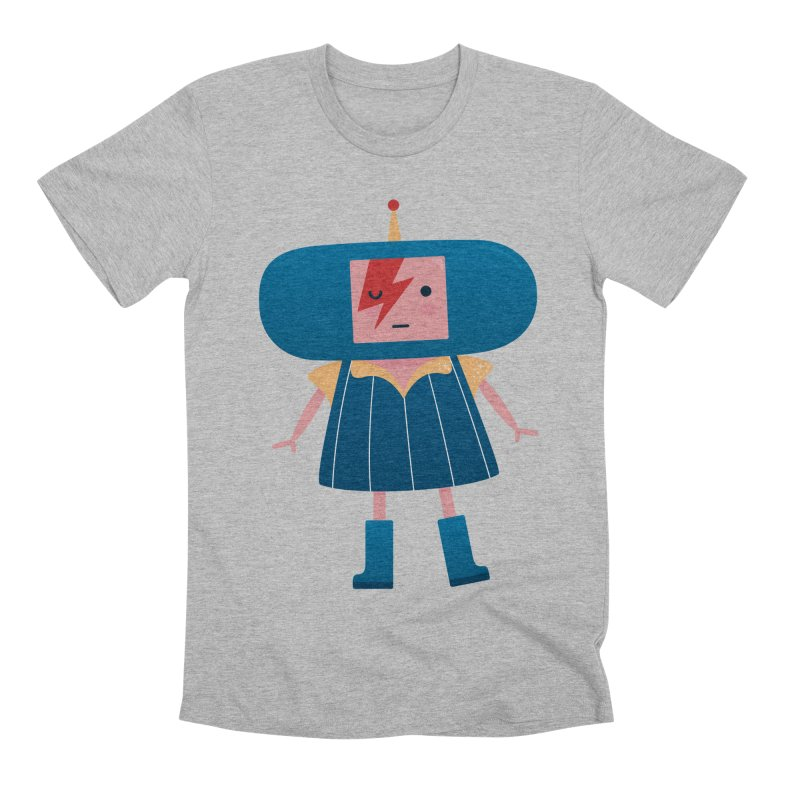 David Bowie Katamari Crossover Men's Premium T-Shirt by Kadusaurus's Shop