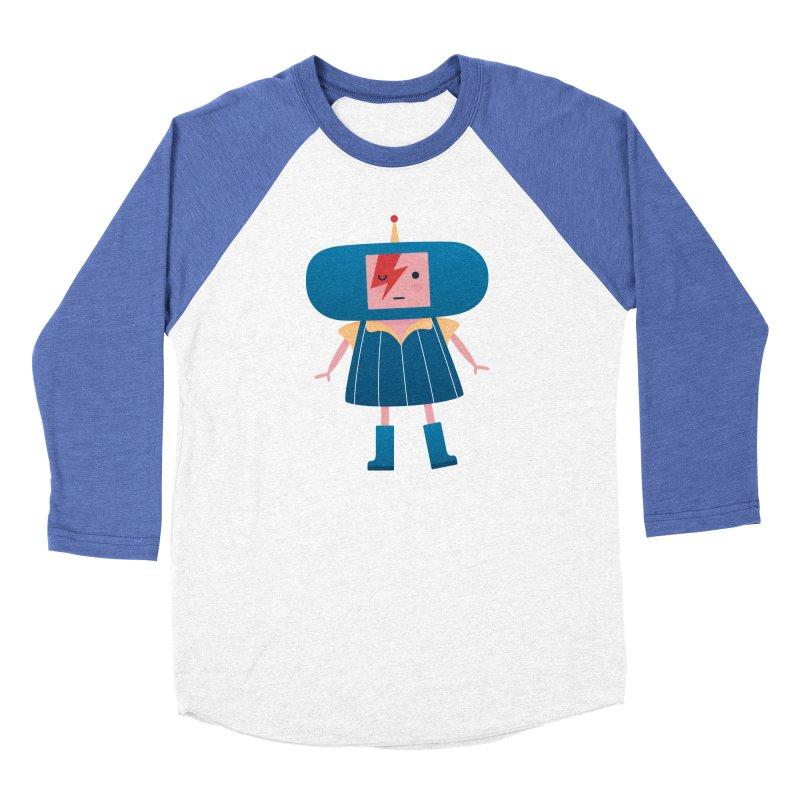 David Bowie Katamari Crossover Women's Baseball Triblend Longsleeve T-Shirt by Kadusaurus's Shop