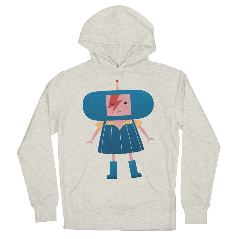 David Bowie Katamari Crossover Men's French Terry Pullover Hoody by Kadusaurus's Shop