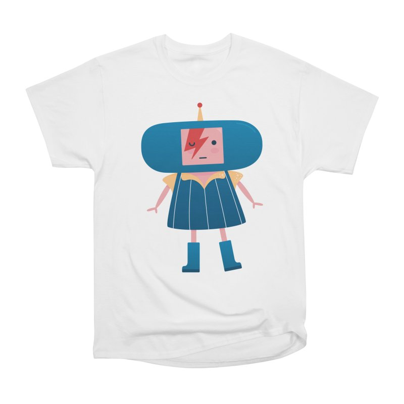 David Bowie Katamari Crossover Men's Heavyweight T-Shirt by Kadusaurus's Shop