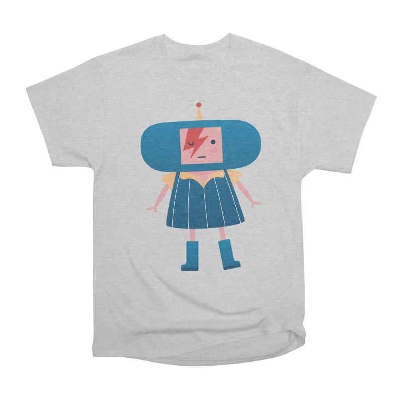 David Bowie Katamari Crossover Women's Heavyweight Unisex T-Shirt by Kadusaurus's Shop