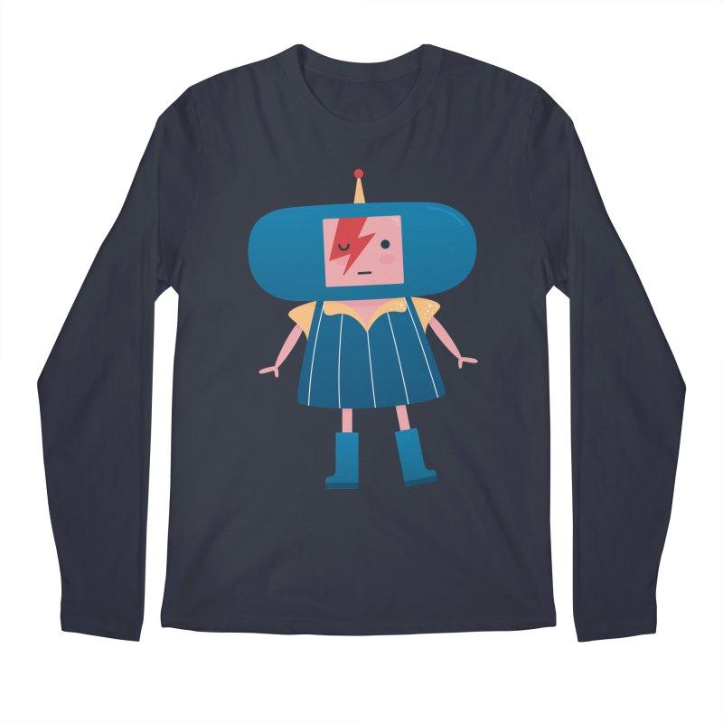 David Bowie Katamari Crossover Men's Longsleeve T-Shirt by Kadusaurus's Shop