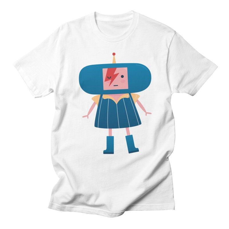 David Bowie Katamari Crossover Men's Regular T-Shirt by Kadusaurus's Shop