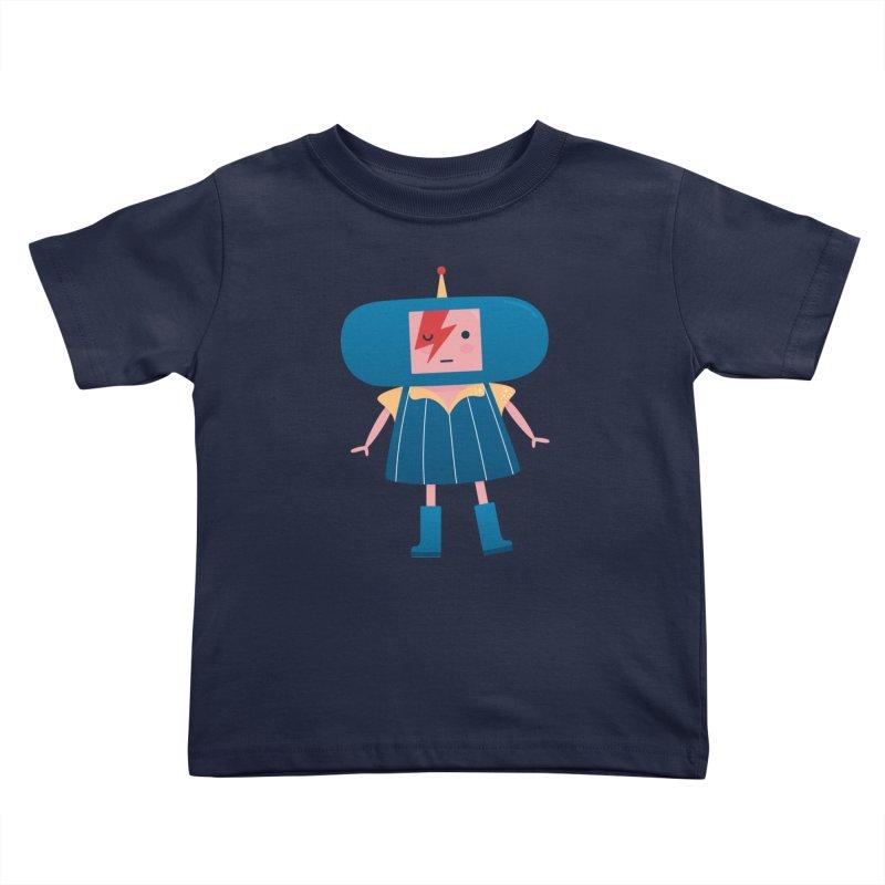 David Bowie Katamari Crossover Kids Toddler T-Shirt by Kadusaurus's Shop